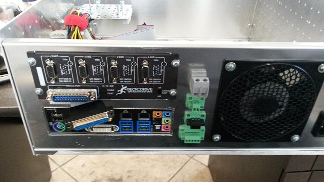 New Machine Build Custom Cnc Controller System In A